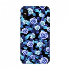 iPhone X  Purple roses by Jms
