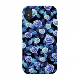 iPhone Xs / X  Purple roses by