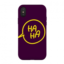 iPhone Xs / X  haha yellow by