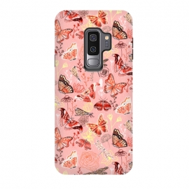 Galaxy S9 plus  Warm Butterflies, Dragonflies and Moths  by