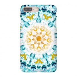 iPhone 8/7 plus  Mustard & Teal Mandala  by