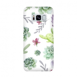 Cactus Watercolor Pattern by Bledi