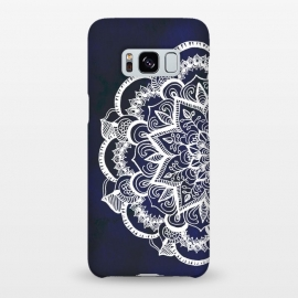Galaxy S8+  White Feather Mandala by Tangerine-Tane