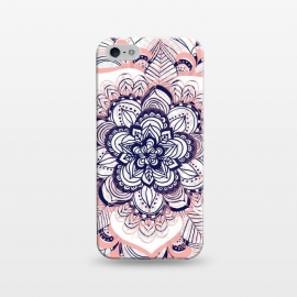iPhone 5/5E/5s  Purple, Blue and Pink Netted Mandala by Tangerine-Tane