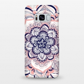 Galaxy S8+  Purple, Blue and Pink Netted Mandala by Tangerine-Tane