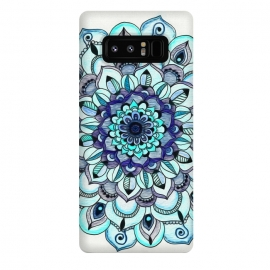 Galaxy Note 8  Peacock Mandala by