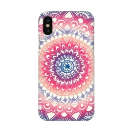 iPhone X  Ocean Sunset Mandala by Tangerine-Tane