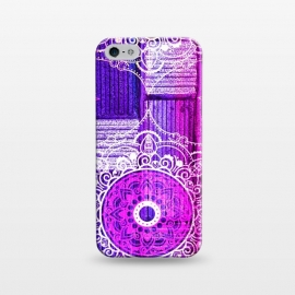 iPhone 5/5E/5s  Purple Tapestry by Rossy Villarreal