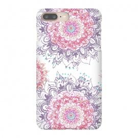 iPhone 8/7 plus  Flowers in Her Hair  by  (floral ,flowers,flower,boho,bohemien,nature,hippie,mandala,pretty)