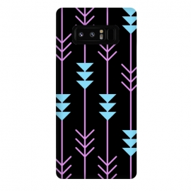 Galaxy Note 8  arrow pattern by