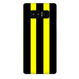 Galaxy Note 8  yellow stripes by