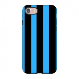 iPhone 8/7  blue stripes by MALLIKA