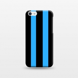 iPhone 5C  blue stripes by MALLIKA