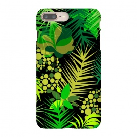 green tropical pattern by MALLIKA