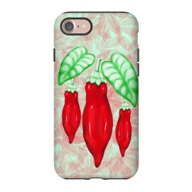 iPhone 8/7  Red Hot Chilli Pepper Decorative Food Art by BluedarkArt