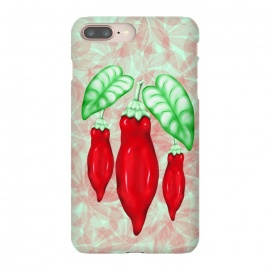 iPhone 8/7 plus  Red Hot Chilli Pepper Decorative Food Art by