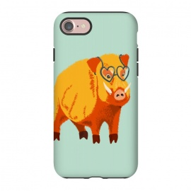 iPhone 8/7  Cute Boar Pig With Glasses  by Boriana Giormova