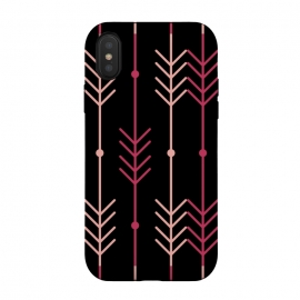 iPhone Xs/X  pink arrow pattern by MALLIKA