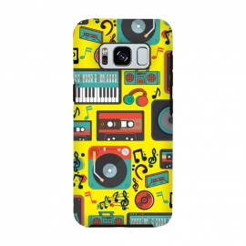 music retro pattern by MALLIKA