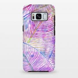 Galaxy S8 plus  Ultraviolet Banana Leaves by
