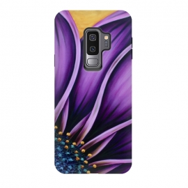 Galaxy S9+  Purple Daisy by Denise Cassidy Wood
