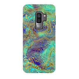 Galaxy S9 plus  Abstract Marble II by