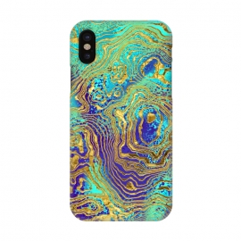 iPhone X  Abstract Marble IV by Art Design Works