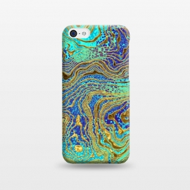 iPhone 5C  Abstract Marble III by Art Design Works