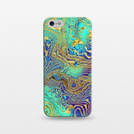 iPhone 5/5E/5s  Abstract Marble V by Art Design Works