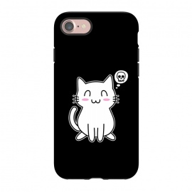 iPhone 8/7  My Lovely Kitty by Mitxel Gonzalez (cat,kitty,kitten,skull,skulls,funny,cool,cats,kitty phonecase,top design,kawaii,anime,manga,animals,japanese,cats phonecase)