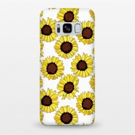 Galaxy S8+  Sunflowers Are The new Roses! - White  by Tigatiga
