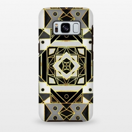 Gold, Black & White Art Deco  by Tigatiga
