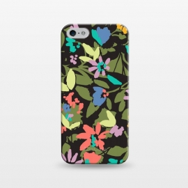 iPhone 5/5E/5s  Bright modern flowers by