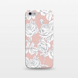 iPhone 5/5E/5s  Drawn roses by Susanna Nousiainen