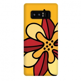 Galaxy Note 8  Aquilegia by