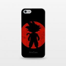 iPhone 5/5E/5s  Son Goku by  (dragon ball,dragon,goku,super sayan,vegeta,piccolo,kame hame,son goku,Goku,dragonball)
