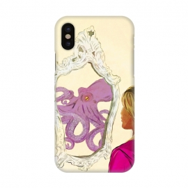 iPhone X  The Girl and the octopus by