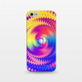 iPhone 5/5E/5s  Abstract Colorful Diamond Shape Circular Design by Art Design Works