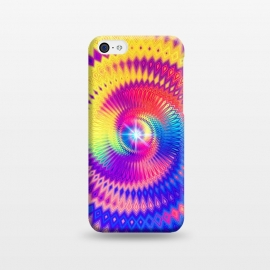 iPhone 5C  Abstract Colorful Diamond Shape Circular Design by Art Design Works