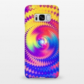 Galaxy S8+  Abstract Colorful Diamond Shape Circular Design by Art Design Works