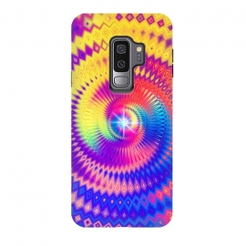 Galaxy S9+  Abstract Colorful Diamond Shape Circular Design by Art Design Works