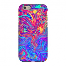 iPhone 6/6s  Abstract Colorful Waves by Art Design Works