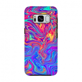 Galaxy S8  Abstract Colorful Waves by Art Design Works