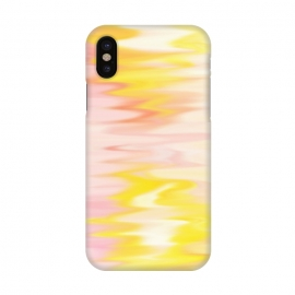 iPhone X  Pink yellow abstract by Jms