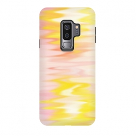 Galaxy S9+  Pink yellow abstract by Jms