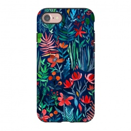 iPhone 8/7  Tropical Ink Watercolor Garden by Micklyn Le Feuvre