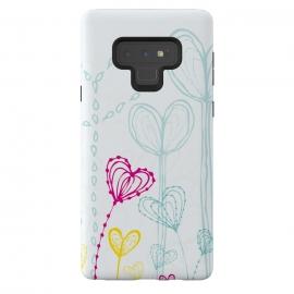 Galaxy Note 9  Love Garden  White by  ()