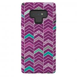 Galaxy Note 9  Chevron Purple by  ()