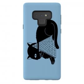 Galaxy Note 9  Cat Illuminati Blue by