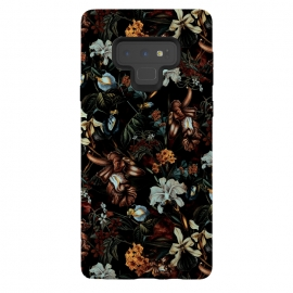 Galaxy Note 9  Botanical Flowers I by Riza Peker (FLORAL,PATTERN,ART)